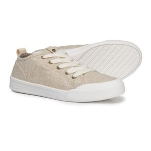 Like NEW!! [Roxy] natural sneaker fashion shoe